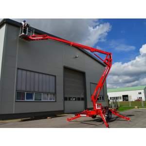 Trailer mounted platform EuropeLIFT TM15GT