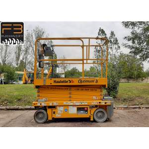 Haulotte scissor lift Optimum 8 second hand lift Nr. 132