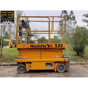 Haulotte scissor lift Optimum 8 second hand lift Nr. 133