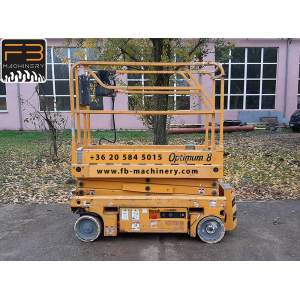Haulotte scissor lift Optimum 8 second hand lift Nr. 19