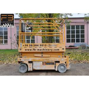 Haulotte scissor lift Optimum 8 second hand lift Nr. 92