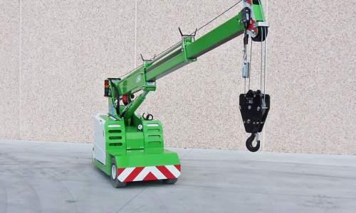Radio remote controlled crane JMG MC22S