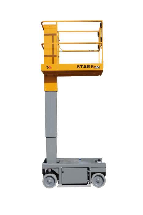 Vertical mast Haulotte Star 6